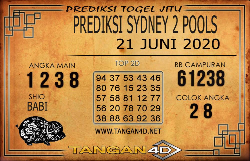 PREDIKSI TOGEL SYDNEY 2 TANGAN4D 21 JUNI 2020