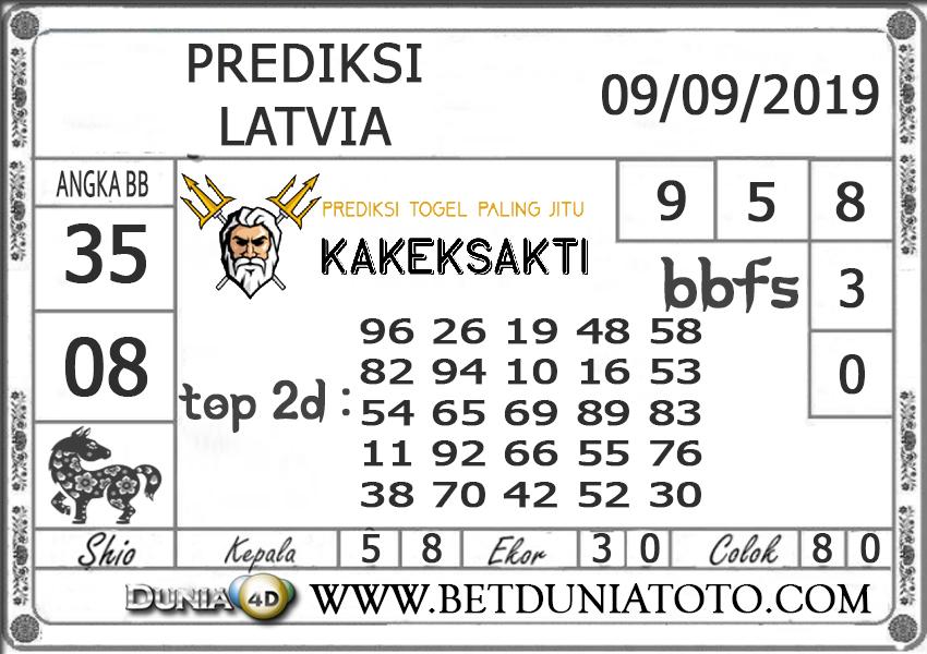 """Prediksi Togel """"LATVIA"""" DUNIA4D 09SEPTEMBER 2019"""
