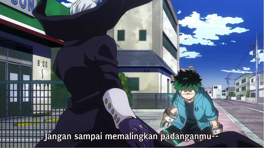Boku no Hero Academia Season 4 Episode 21 Subtitle Indonesia