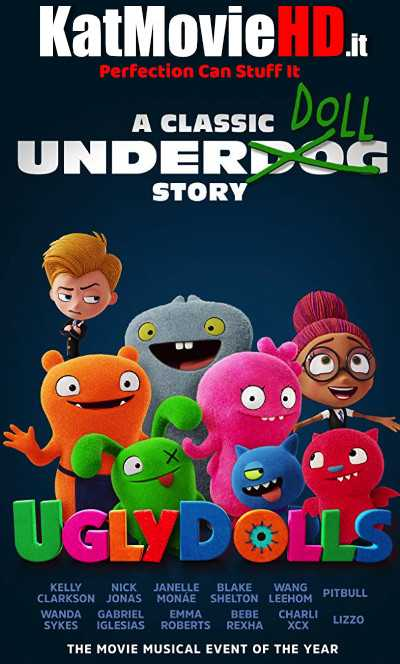 UglyDolls (2019) 720p & 480p Web-DL x264 HD Full Movie