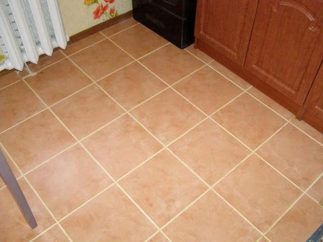 Затирка для бежевой плитки на кухню
