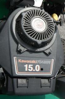 158202238 bobcat walk behind 15hp kawasaki engine zero turn lawn