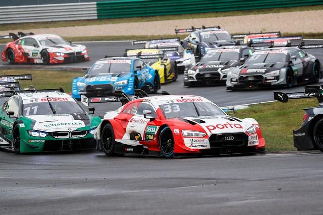 DTM – René Rast remporte le podium Audi au Lausitzring A204847-medium