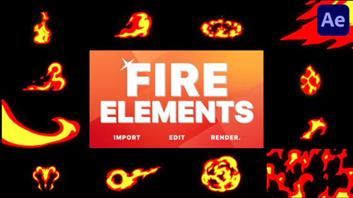 Fire Pack | After Effects 31105607 - Project & Script (Videohive)