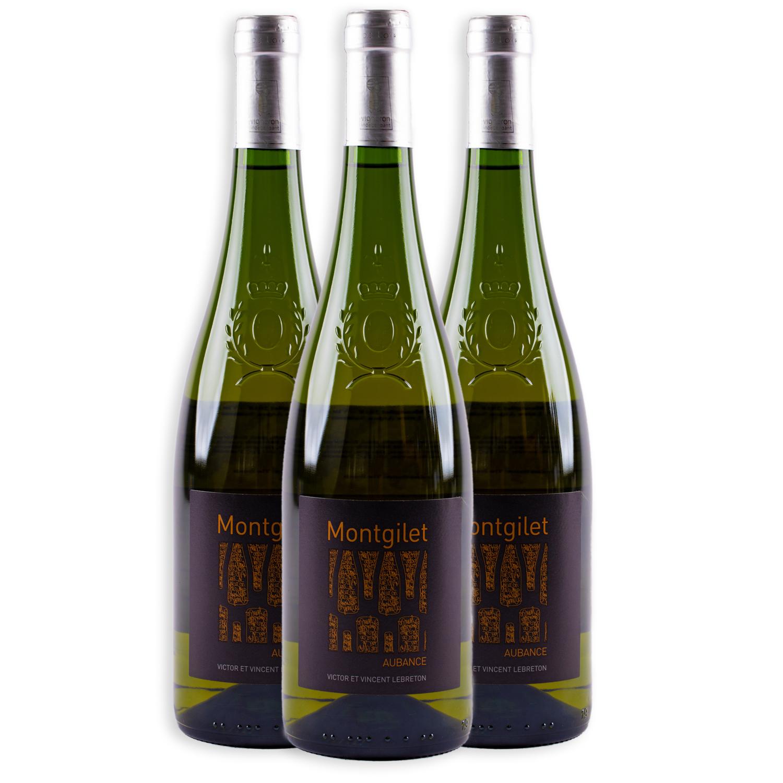 3 sticle x Domaine de Montgilet Aubance 2018 750ml