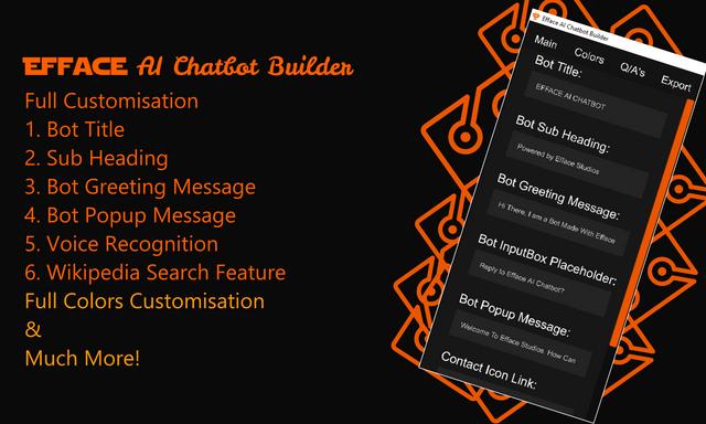 Efface AI Chatbot Builder - Wordpress Chatbot Builder - 2