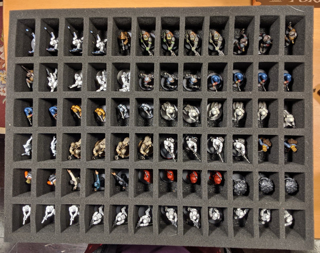 My One Of Everything Battlefoam Storage Solution Imperial Assault Painting And Modification Ffg Community Custom text is not available on this product. my one of everything battlefoam storage