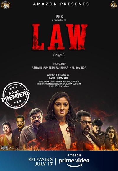 LAW (2020) Kannada Movie 480p HDRip 350MB Download