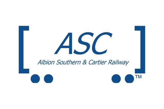 Albion Southern Cartier RR Logo