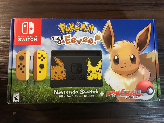 Les différents pack Switch EvoUS2