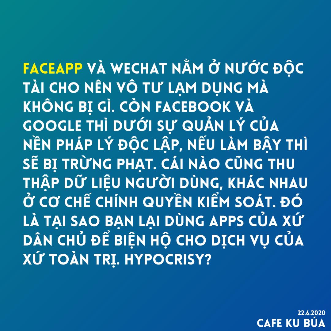 FACEAPP AND FACEBOOK – CƠ CHẾ KIỂM SOÁT