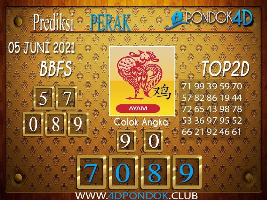 Prediksi Togel PERAK PONDOK4D 05 JUNI 2021
