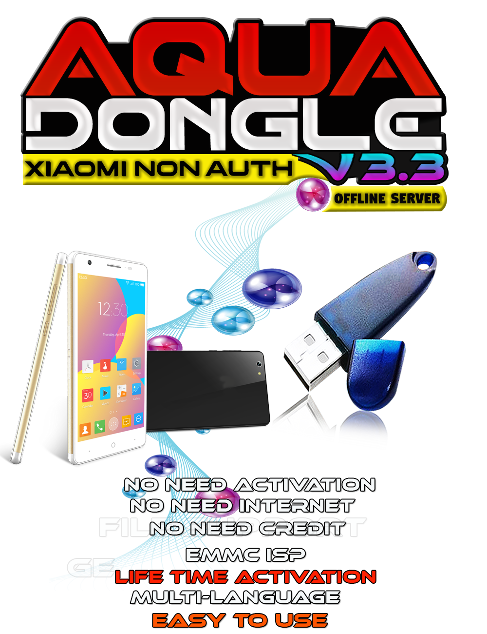 AQUA Dongle V3.3 Super Update Xiaomi Offline, OPPO OFP Extract & SPD Released