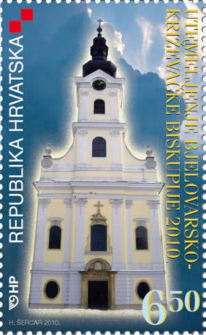 2010. year UTEMELJENJE-BJELOVARSKO-KRI-EVA-KE-BISKUPIJE