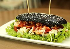 Black Sandwich Toast