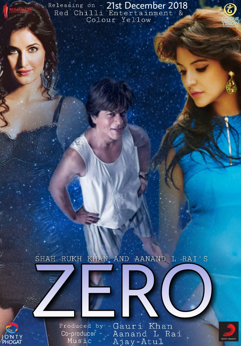 Zero (2018)[Hindi Proper HQ 720p HDRip – x264 – DD 5.1