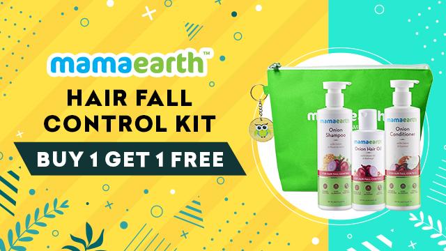 Mama Earth Hair fall control kit