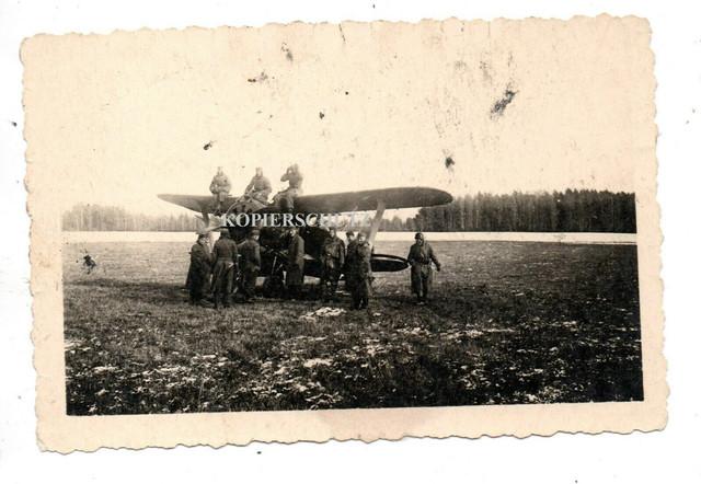 Beute-Flugzeug-Plane-Bomber-J-ger-Flieger