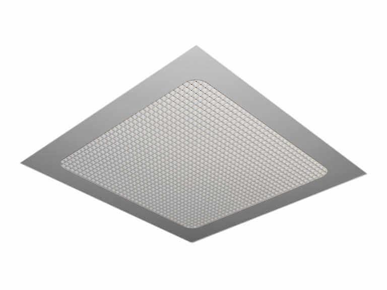 Решетка потолочная квадратная RASTER GRL