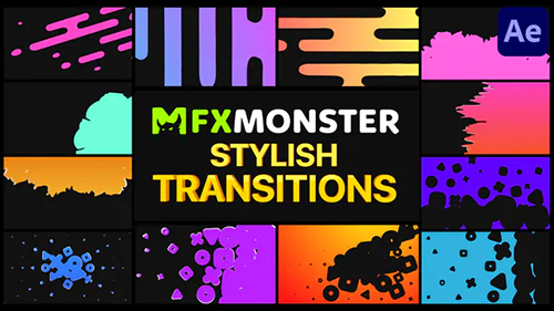 Stylish Transitions | After Effects 31103524 - Project & Script (Videohive)