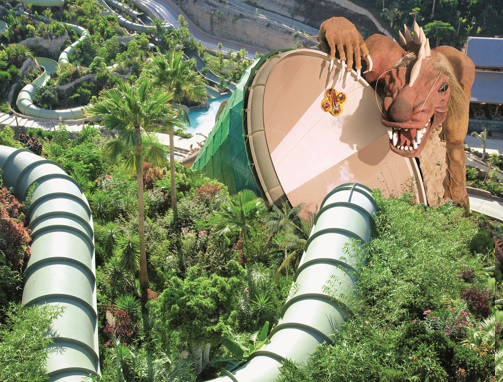 The Dragon at Siam Park