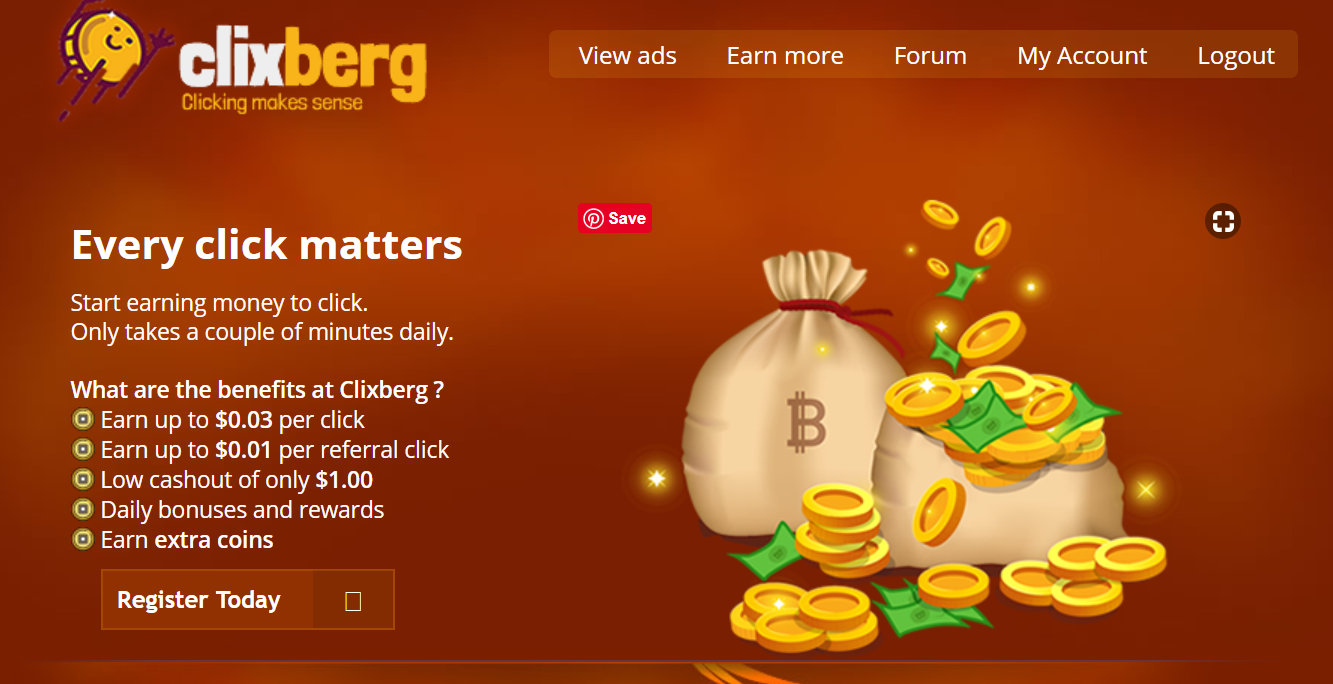 SCAM – Clixberg.net Review Scam or Paying PTC Site?