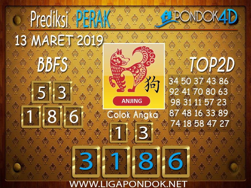 Prediksi Togel PERAK PONDOK4D 13 MARET 2019