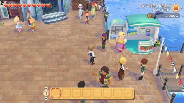 「牧場物語」系列首次在Nintendo SwitchTM平台推出全新製作的作品!  『牧場物語 橄欖鎮與希望的大地』 於今日2月25日(四)發售 046