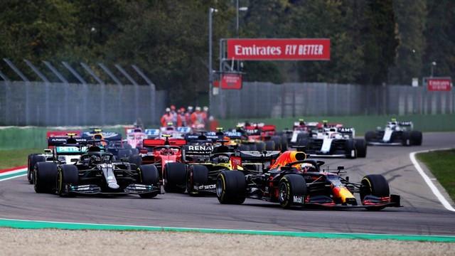 F1 GP Émilia Romagna 2020 : Vitoire Lewis Hamilton, le titre pour Mercedes F1-GP-milia-Romagna-2020