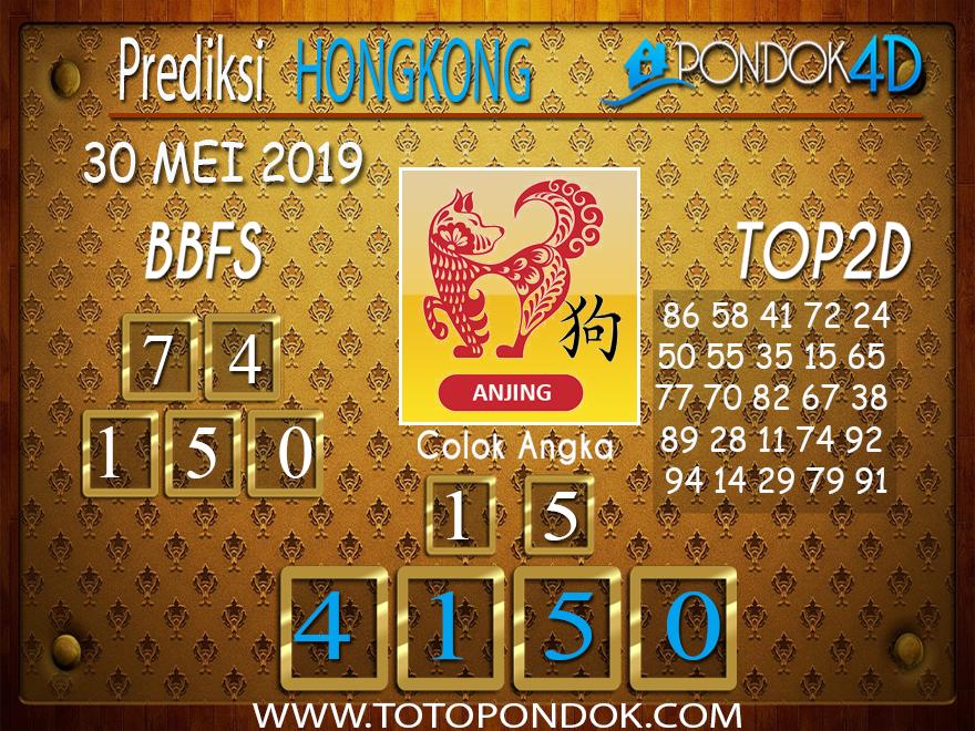 Prediksi Togel HONGKONG PONDOK4D 30 MEI 2019