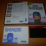 [VENDUS] 28 jeux MASTER SYSTEM -> 100€ FDPIN Shinobi