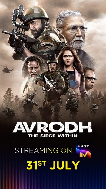 Avrodh the Siege Within (2020) Hindi 480p S01 Complete HDRIp Esubs Download