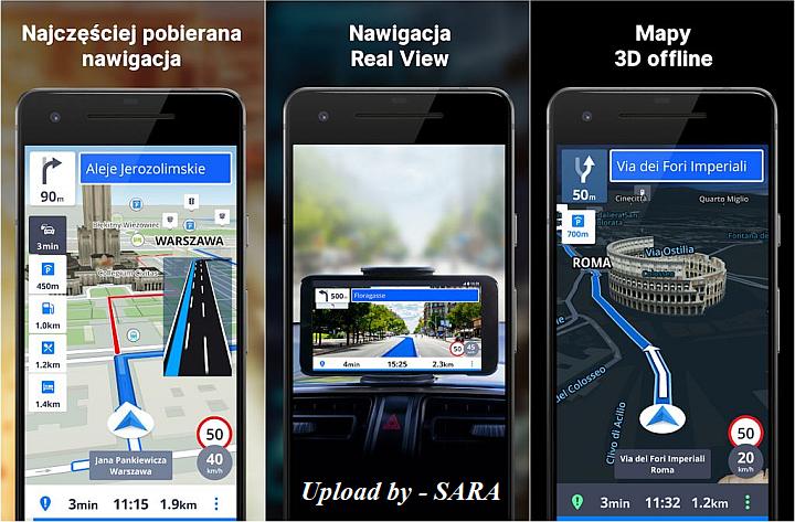 Sygic GPS Navigation & Maps v20.8.6 Final Premium / MOD Extra + Maps