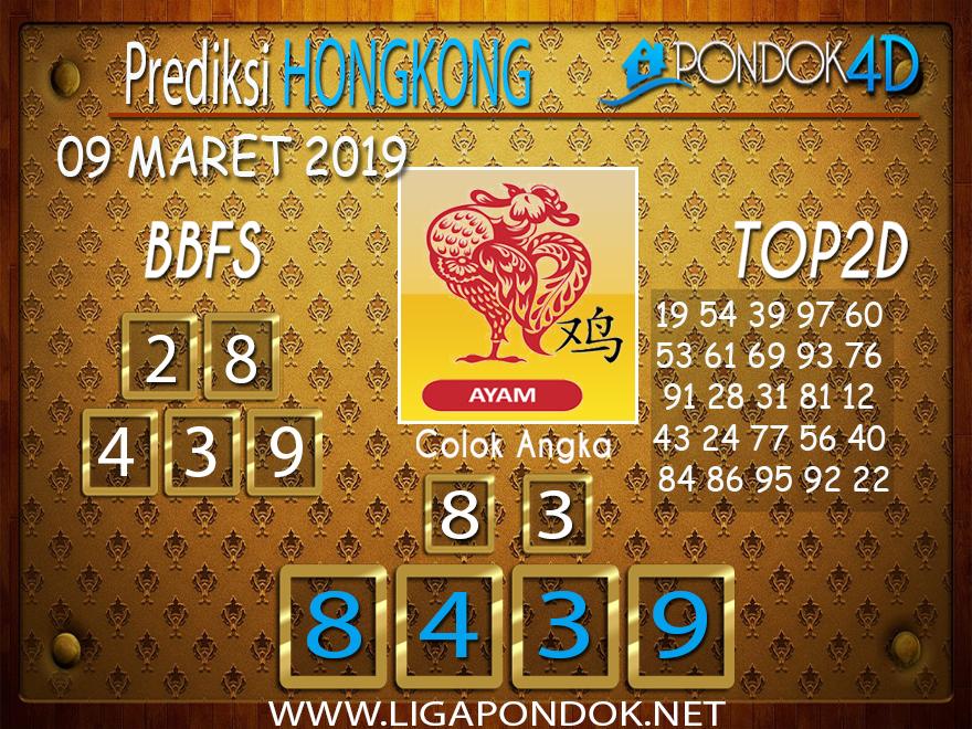 Prediksi Togel HONGKONG  PONDOK4D 09 MARET 2019