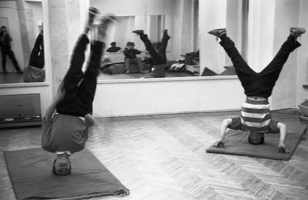 Любители рок-н-ролла в танцклассе, Новокузнецк история, люди, редкие, фото