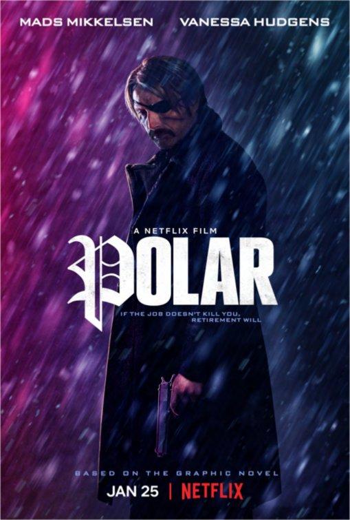 Смотреть Полярный / Polar Онлайн бесплатно - Дункан Визла — один из самых опасных киллеров в мире, известный под творческим...