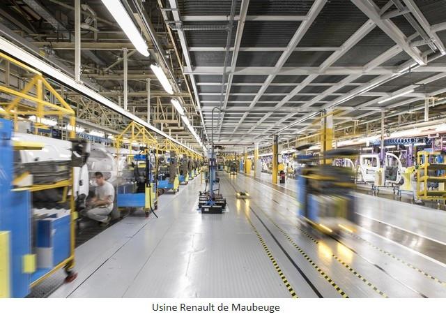 Renault Group signe un accord social et crée Renault ElectriCity: le pôle industriel électrique du nord de la France Usine-Renault-de-Maubeuge-3
