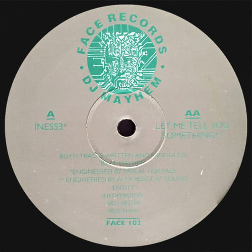 Download DJ Mayhem - Inesse / Let Me Tell You Something mp3