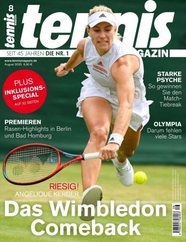 Cover: Tennis Magazin No 09 2021