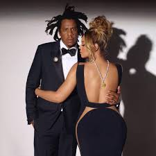 Jay Z and Pretty Lady in Photo