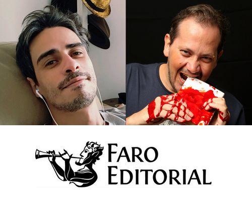 Autor Pedro Ivo se junta ao time da @faroeditorial em novo projeto com Rodrigo Oliveira!