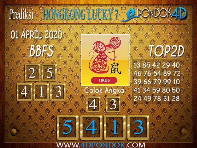 Prediksi Togel HONGKONG LUCKY 7 PONDOK4D 01 APRIL 2020