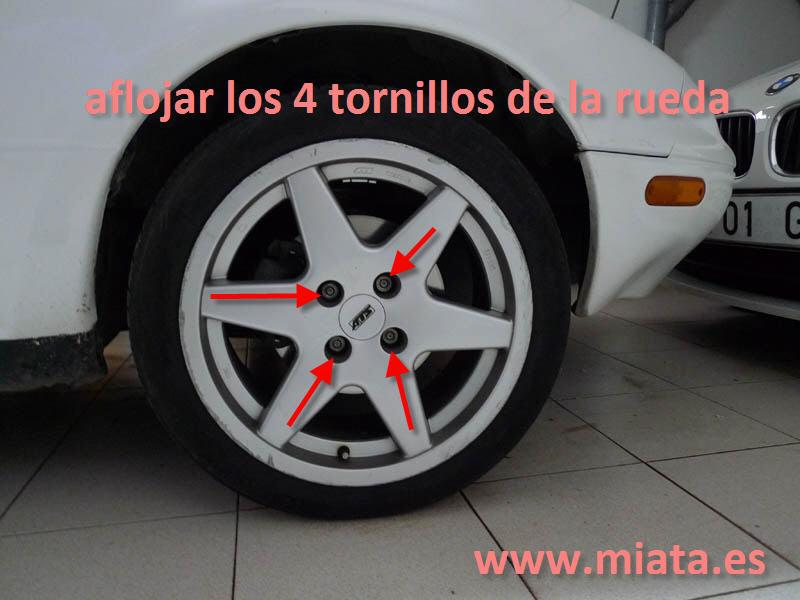 TUTORIAL DE COMO CAMBIAR EL EMPUJADOR HIDRAULICO DE LA LEVA DEL EMBRAGUE DEL MX-5/MIATA. 001