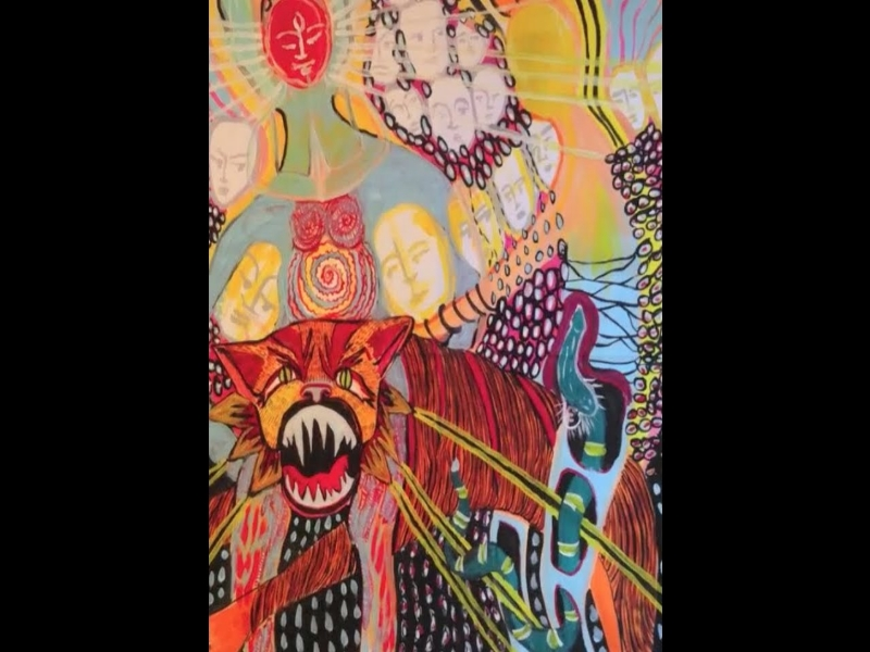 Painting Art Ivuka