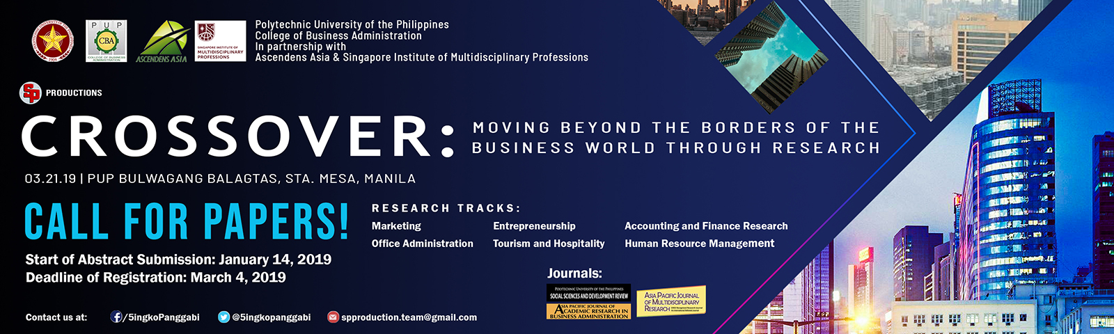 Crossover: Moving Beyond the Borders of the Business World through Research