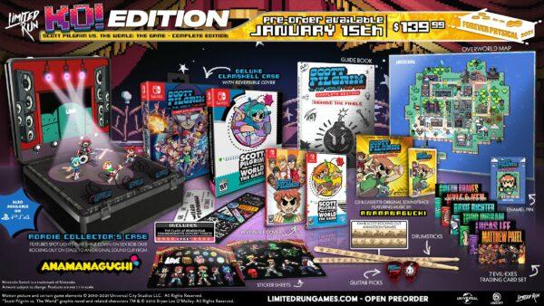 Scott Pilgrim vs. The World:遊戲–完整版PS4和Switch限量版印刷實體版預購將於1月15日開始 Scott-Pilgrim-vs-the-World-The-Game-CE-Limited-Run-Games-01-08-21-003-600x338