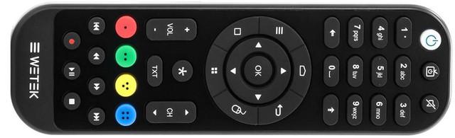 We Tek Play 2 remote