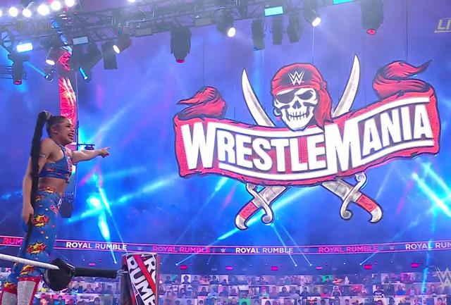 Bianca Belair gana el Royal Rumble Femenino 2021