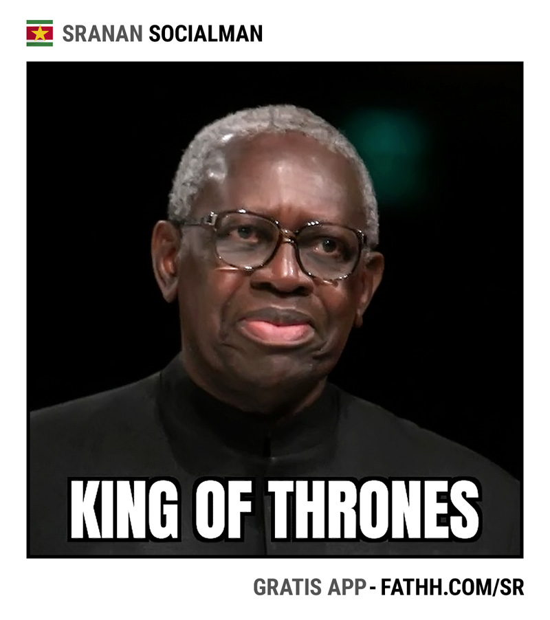 Sranan Socialman : King of Thrones