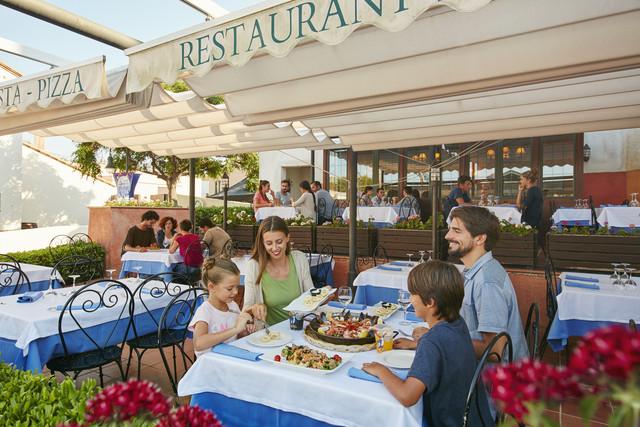 Restaurant med at PortAventura